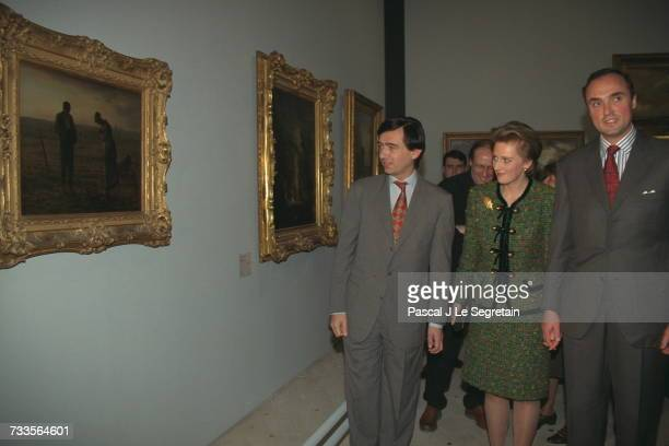 Princess Astrid Visits The Paris Brussels Exhibition