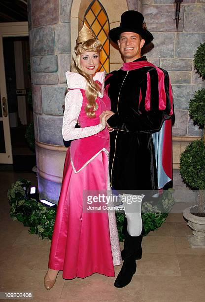 Princess Aurora and Prince Phillip at the 50th Anniversary Release of the Walt Disney Classic Sleeping Beauty After Party at the Plaza Hotel on...