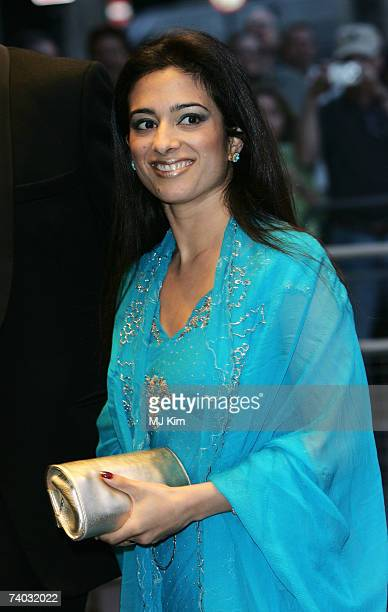 Princess Badiya bint Hussein of Jordan arrives for the premiere of 'Stairway To Heaven' at Odeon West End on April 30 2007 in London England