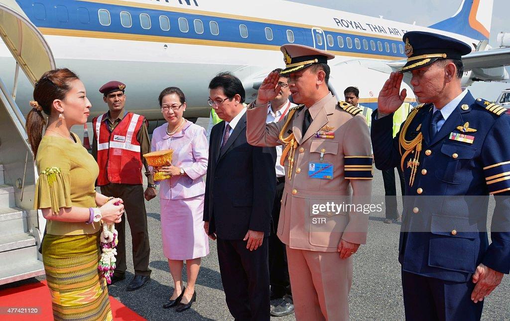 INDIA-THAILAND-ROYALS : News Photo
