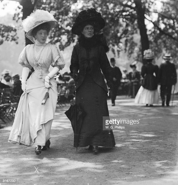 Princess Batthyany-Strattmann in Hyde Park, London.