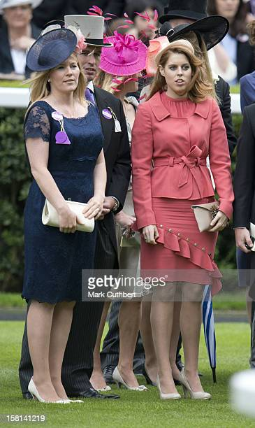 Princess Beatrice And Autumn Phillips On The Final Day Of Royal Ascot