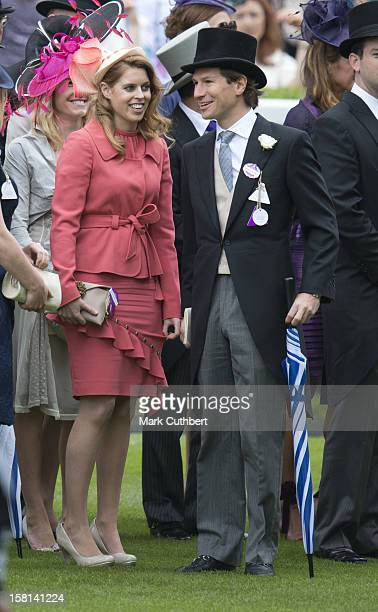Princess Beatrice And Boyfriend Dave Clark On The Final Day Of Royal Ascot