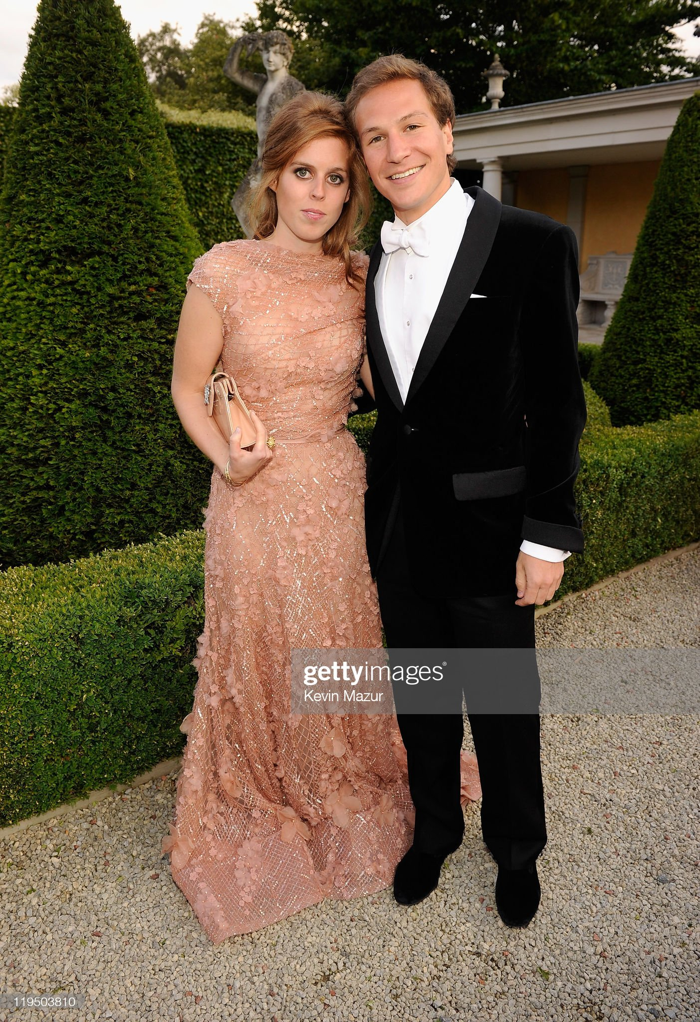 The 13th Annual White Tie & Tiara Ball - Arrivals : News Photo