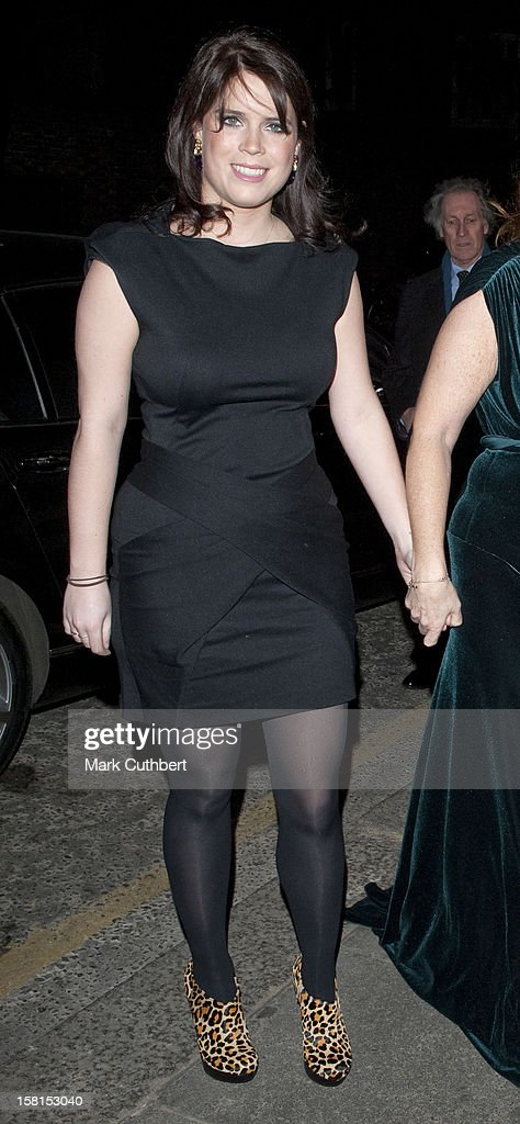 Princess Beatrice And Princess Eugenie With The Duchess Of York : News Photo