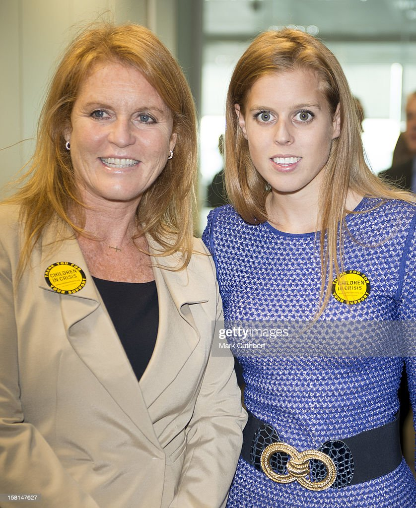 Princess Beatrice And Sarah, Duchess Of York On The