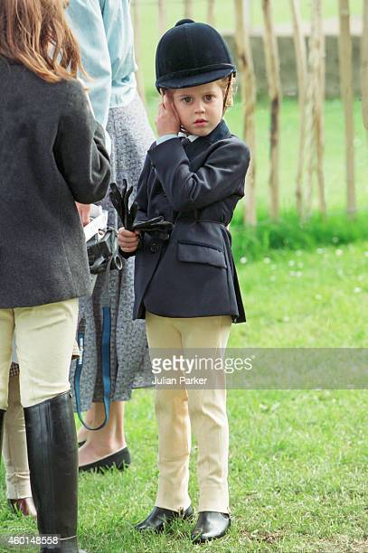 Princess Beatrice at The Royal Windsor Horse Show, on May 14, 1994 in Windsor, United Kingdom .