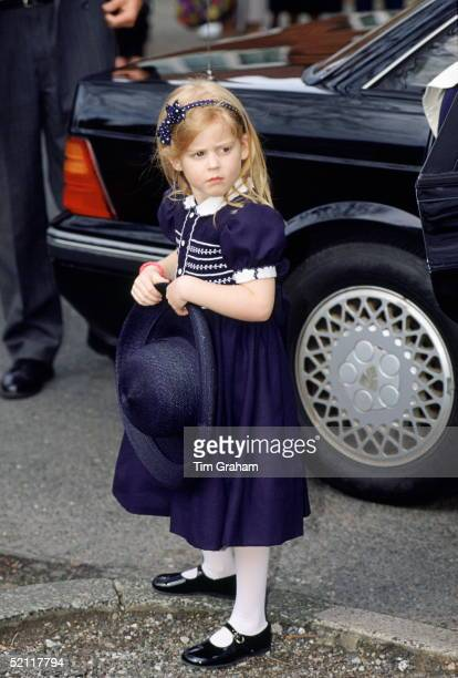 Princess Beatrice At The Wedding Of Her Nanny Alison Wordley In Manchester