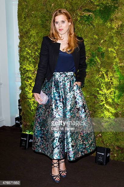 Princess Beatrice attends a fundraising gala auction and dinner hosted by Harrods in aid of the Garden Bridge Trust in its flagship restauraunt, The...