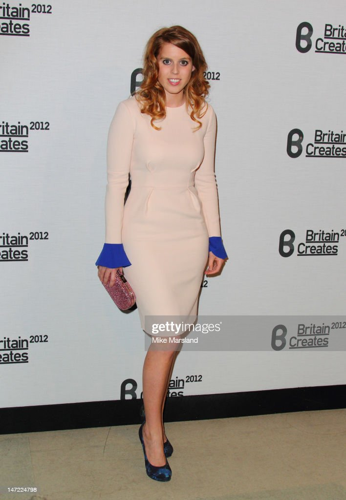Princess Beatrice attends Britain Creates 2012: Fashion & Art Collusion VIP Gala at Old Selfridges Hotel on June 27, 2012 in London, England.
