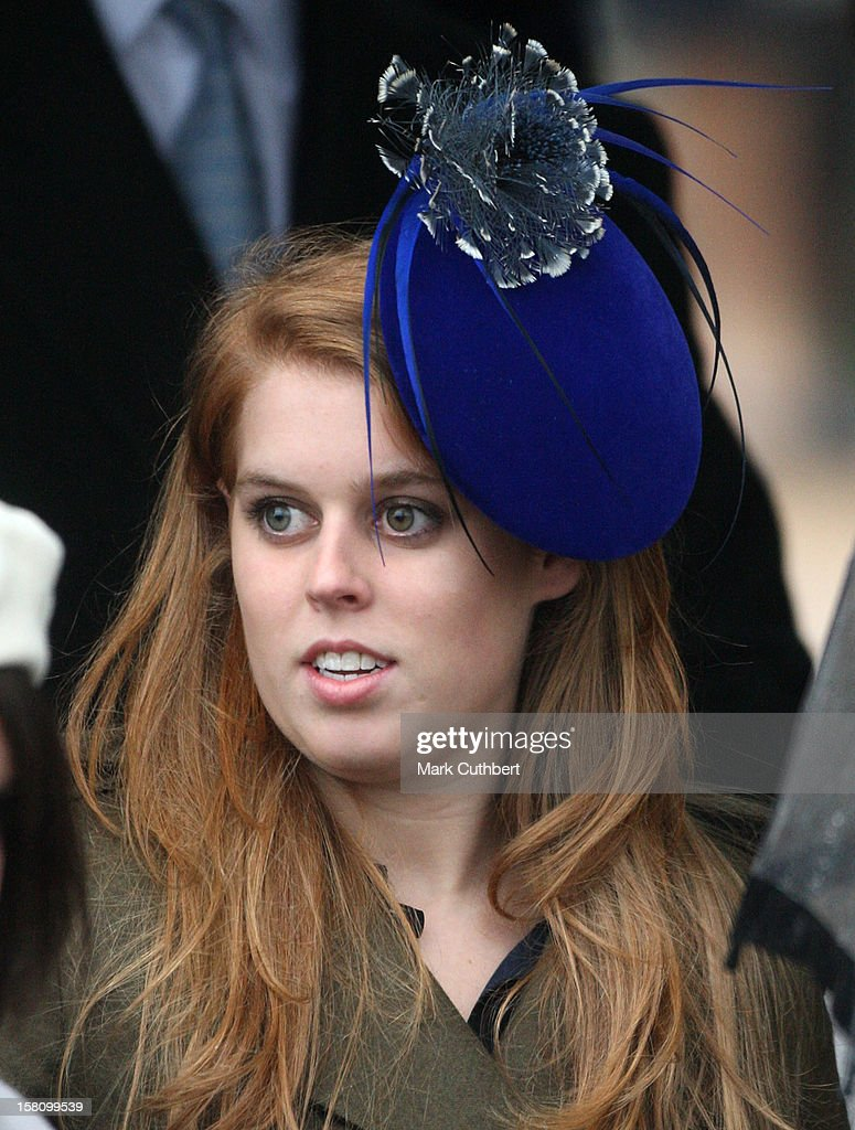 Princess Beatrice Attends Christmas Day Service At Sandringham Church. News Photo - Getty Images