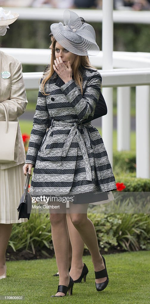 Princess Beatrice attends Day 1 of Royal Ascot at Ascot Racecourse on June 18, 2013 in Ascot, England.
