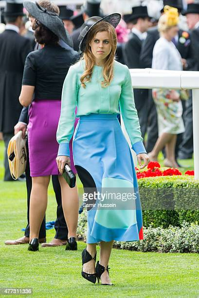 Princess Beatrice attends day 1 of Royal Ascot at Ascot Racecourse on June 16 2015 in Ascot England