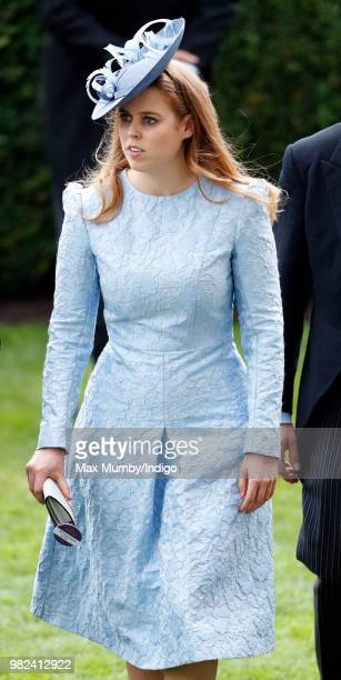 Princess Beatrice attends day 1 of Royal Ascot at Ascot Racecourse on June 19 2018 in Ascot England