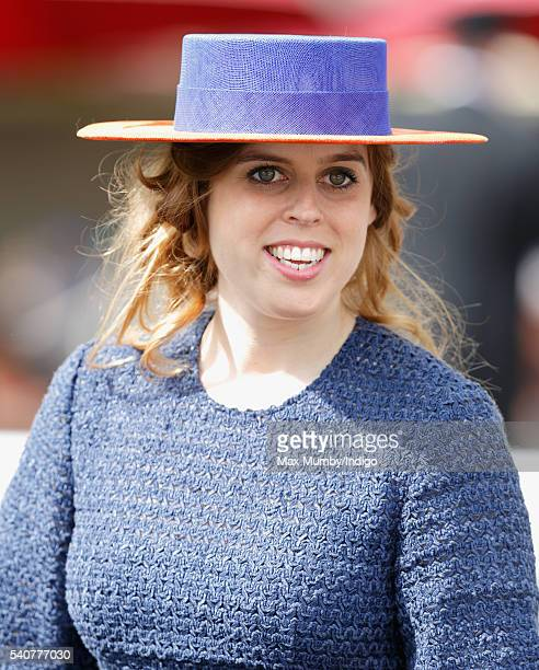 Princess Beatrice attends day 3 'Ladies Day' of Royal Ascot at Ascot Racecourse on June 16 2016 in Ascot England