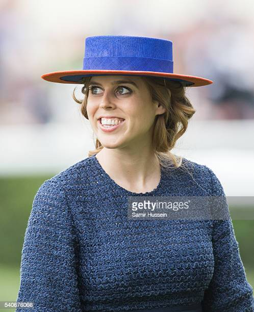 Princess Beatrice attends day 3 of Royal Ascot at Ascot Racecourse on June 16 2016 in Ascot England