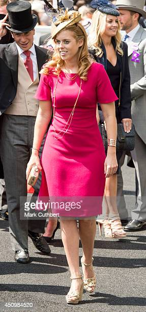 Princess Beatrice attends Day 5 of Royal Ascot at Ascot Racecourse on June 21 2014 in Ascot England