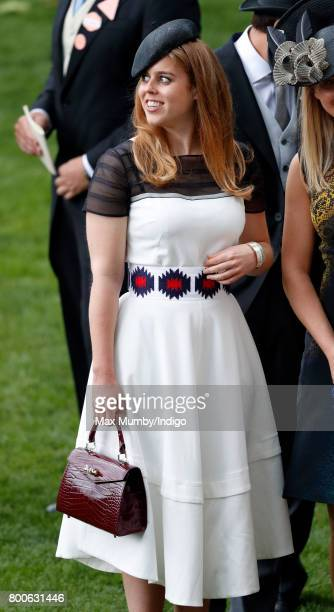 Princess Beatrice attends day 5 of Royal Ascot at Ascot Racecourse on June 24 2017 in Ascot England