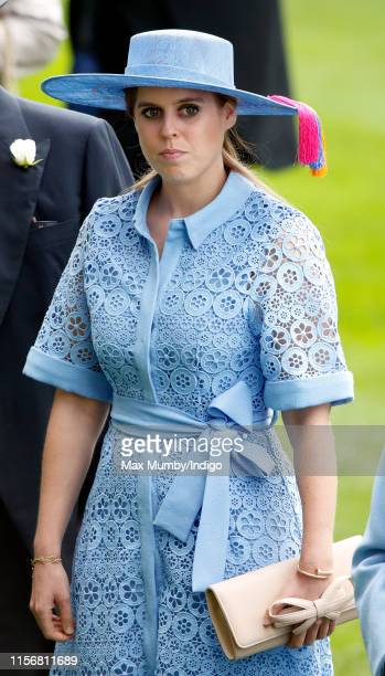 Princess Beatrice attends day one of Royal Ascot at Ascot Racecourse on June 18, 2019 in Ascot, England.