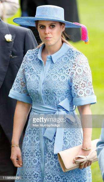Princess Beatrice attends day one of Royal Ascot at Ascot Racecourse on June 18 2019 in Ascot England