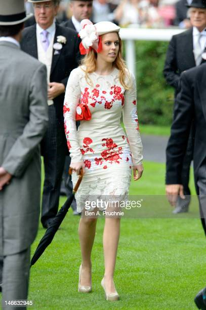 Princess Beatrice attends Ladies Day during Royal Ascot at Ascot Racecourse on June 21 2012 in Ascot England