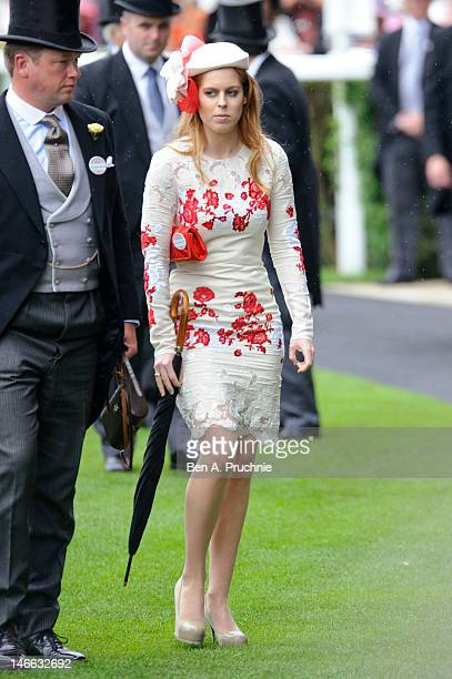 Princess Beatrice attends Ladies Day of Royal Ascot at Ascot Racecourse on June 21 2012 in Ascot England