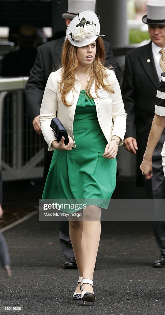 HRH Princess Beatrice attends Royal Ascot at Ascot Racecourse on June 16, 2009 in Ascot, England.