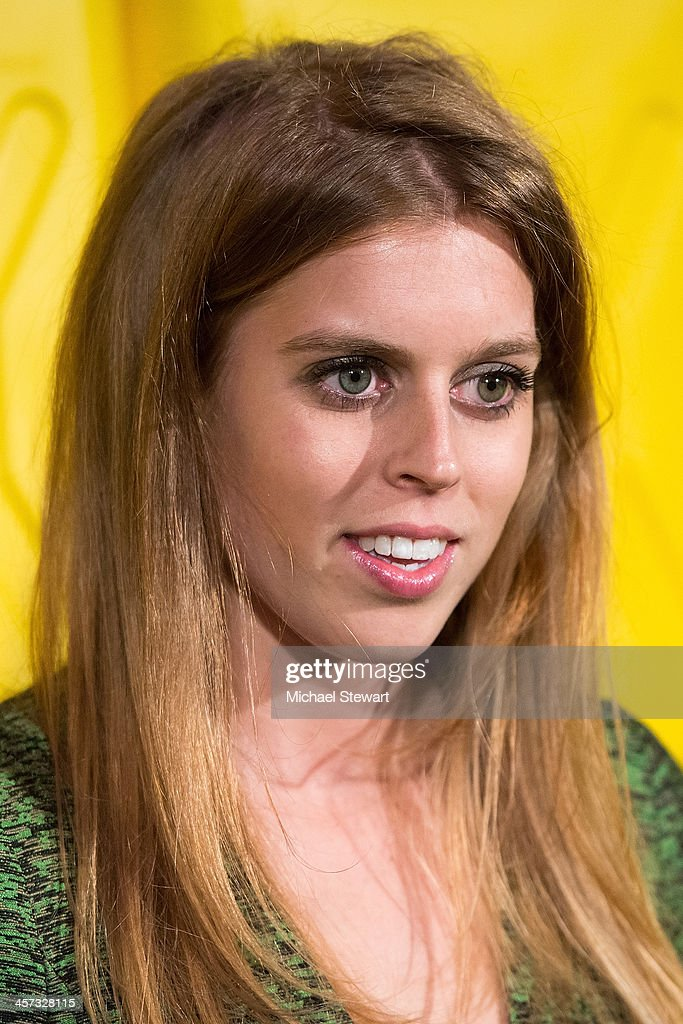 Princess Beatrice attends the 8th annual charity: ball Gala at the Duggal Greenhouse on December 16, 2013 in the Brooklyn borough of New York City.