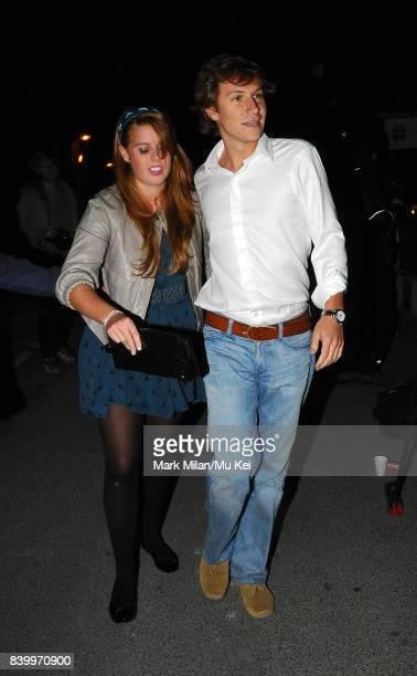 Princess Beatrice attends the DayGlo Charity Roller Disco at the Renaissance Rooms in Vauxhall on September 17 2008 in London England