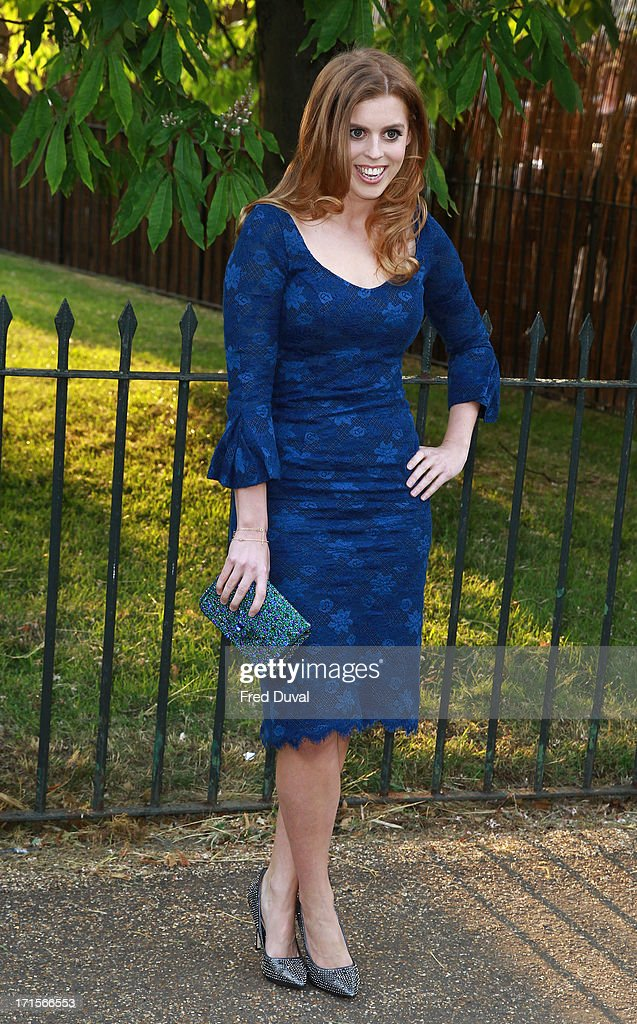 Princess Beatrice attends The Serpentine Gallery Summer Party at The Serpentine Gallery on June 26, 2013 in London, England.