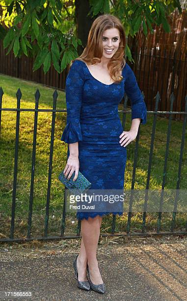Princess Beatrice attends The Serpentine Gallery Summer Party at The Serpentine Gallery on June 26 2013 in London England