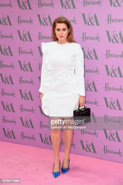 Princess Beatrice attends the VA Summer Party at The VA on June 20 2018 in London England