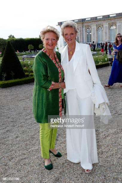 Princess Beatrice de BourbonSiciles and Princess Anne de BourbonSiciles attend 10th Anniversary of TV Show Secrets D'Histoire at Chateau de...