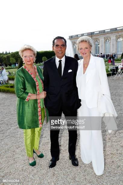 Princess Beatrice de BourbonSiciles Lawyer Alexandre Ursulet and Princess Anne de BourbonSiciles attend 10th Anniversary of TV Show Secrets...