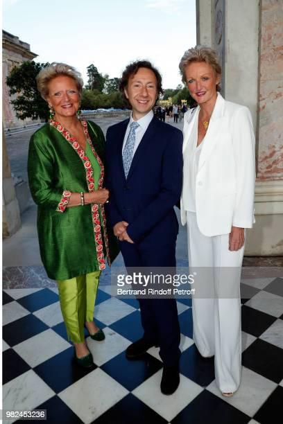Princess Beatrice de BourbonSiciles TV Presenter Stephane Bern and Princess Anne de BourbonSiciles attend 10th Anniversary of TV Show Secrets...