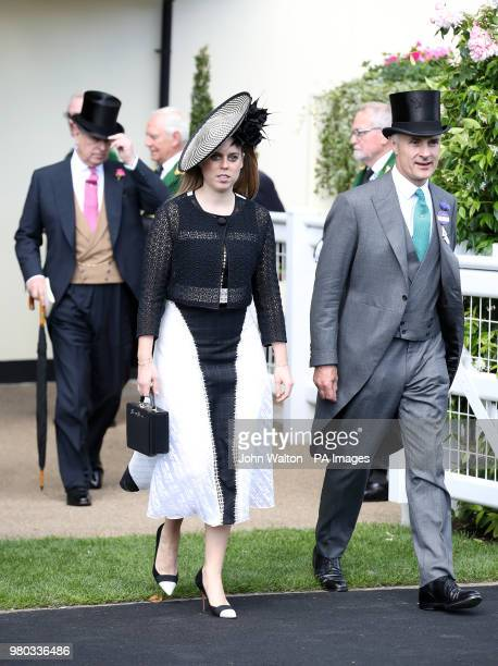 Princess Beatrice during day three of Royal Ascot at Ascot Racecourse.