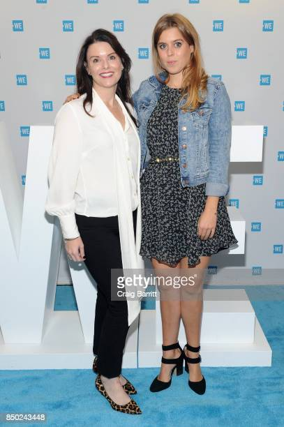 Princess Beatrice Elizabeth Mary of York attends the WE Day UN at The Theater at Madison Square Garden on September 20 2017 in New York City