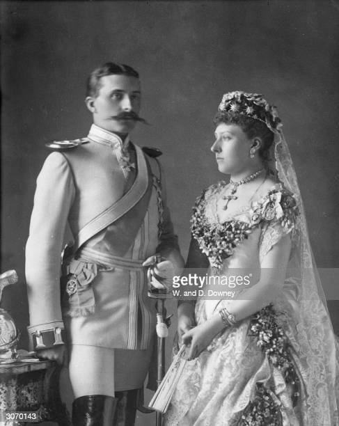 Princess Beatrice Mary Victoria daughter of Queen Victoria marries Prince Henry of Battenberg