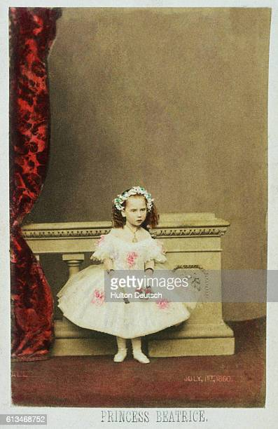 Princess Beatrice of Battenberg youngest daughter of Queen Victoria She married the German Prince Henry of Battenberg in 1885