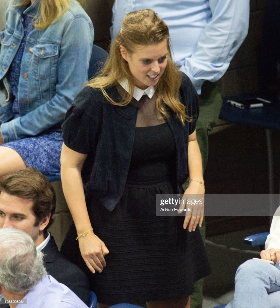 Princess Beatrice of York at Day 12 of the US Open held at the USTA Tennis Center on September 7, 2018 in New York City.