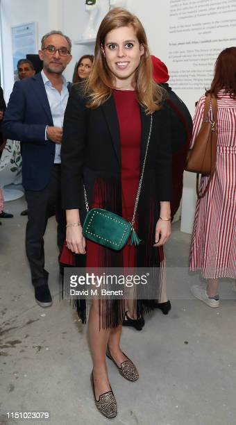 Princess Beatrice of York at the Animal Ball Art Show Private Viewing presented by Elephant Family on May 22 2019 in London England