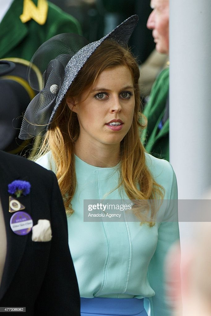 Princess Beatrice of York attend day one of Royal Ascot at Ascot racecourse in Berkshire, on June 16, 2015. The 5 day showcase event, which is one of the highlights of the racing calendar, has been held at the famous Berkshire course since 1711 and tradition is a hallmark of the meeting. Top hats and tails remain compulsory in parts of the course.
