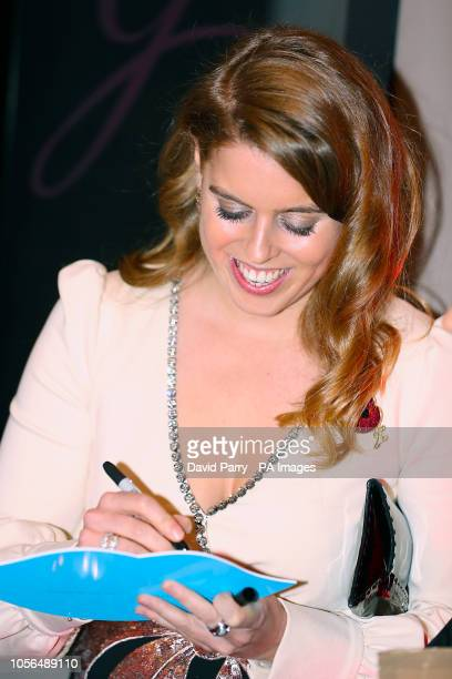 Princess Beatrice of York attending the 9th Annual Global Gift Gala held at the Rosewood Hotel London
