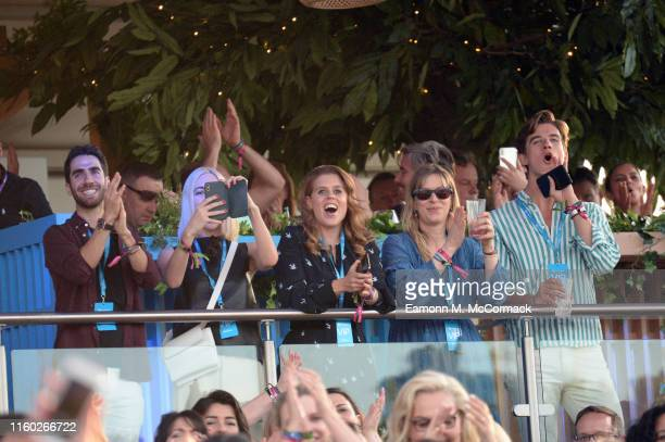 Princess Beatrice of York attends Barclaycard Exclusive area at Barclaycard presents British Summer Time Hyde Park on July 05 2019 in London England