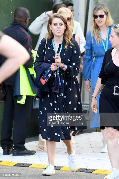 Princess Beatrice of York attends Barclaycard Presents British Summer Time Hyde Park at Hyde Park on July 05 2019 in London England