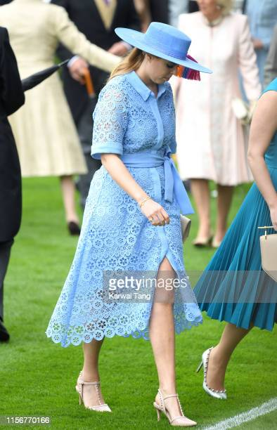 Princess Beatrice of York attends day one of Royal Ascot at Ascot Racecourse on June 18, 2019 in Ascot, England.