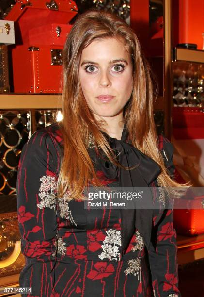 Princess Beatrice of York attends Louis Vuittons Celebration of GingerNutz in Vogue's December Issue on November 21 2017 in London England