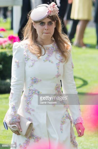 Princess Beatrice of York attends Royal Ascot 2017 at Ascot Racecourse on June 20 2017 in Ascot England