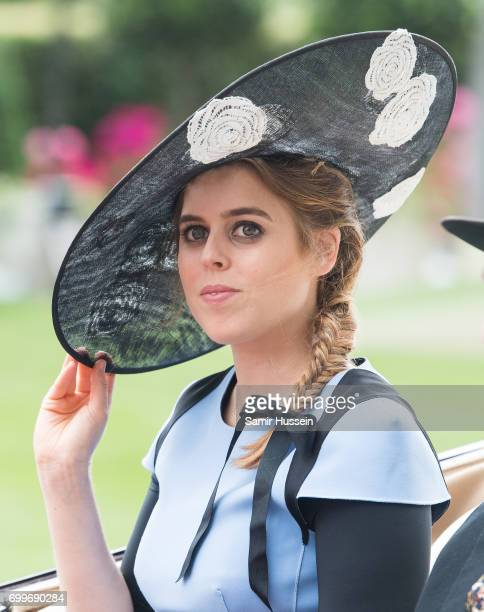 Princess Beatrice of York attends Royal Ascot 2017 at Ascot Racecourse on June 22, 2017 in Ascot, England.