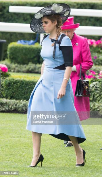 Princess Beatrice of York attends Royal Ascot 2017 at Ascot Racecourse on June 22 2017 in Ascot England